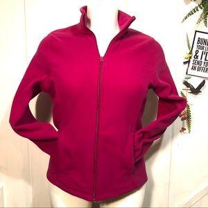 EMILY B - fleece jacket XL soft pink